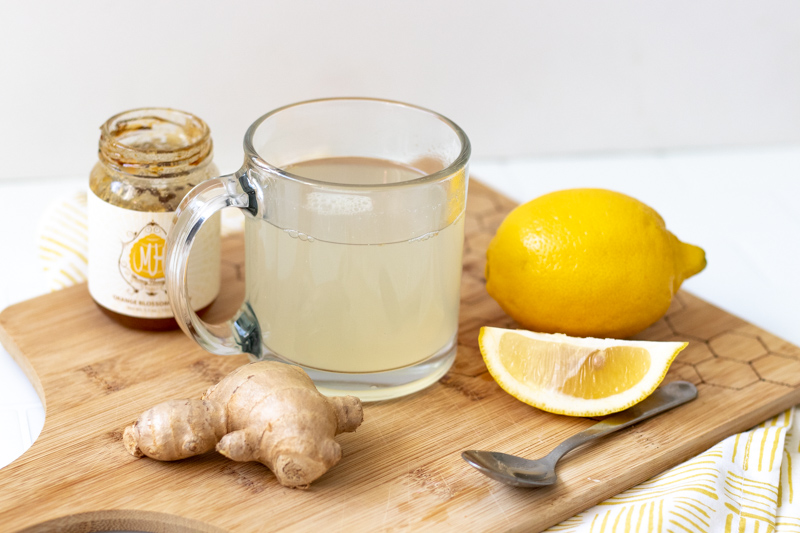 This simple Lemon Ginger Detox Tea has medicinal properties that detoxify your body, helping you feel better when you're bloated or have an upset stomach. Brewed in just 5 minutes, this tea contains ingredients that help fight infection, lower blood sugar, and flush out toxins.