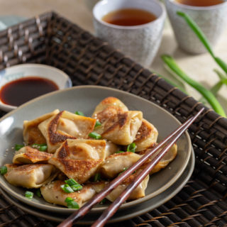 Fried Pork Wontons: Chinese Dumplings