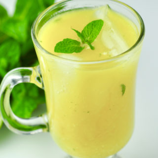 Tropical Mango Mojito Mocktail