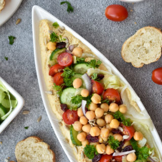 Farmers Market Loaded Hummus