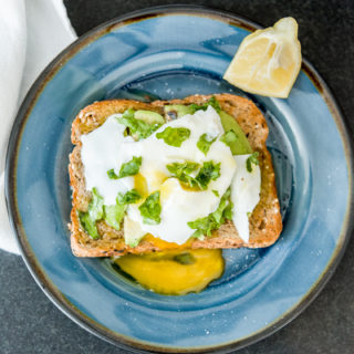 10-Minute Poached Egg Avocado Toast