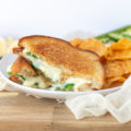 This 4-ingredient, 15-minute lunch takes the classic grilled cheese and turns it into a grown up grilled cheese. This elevated Jalapeño Popper Grilled Cheese uses Monterey Jack Cheese and fresh jalapeños to make a deli-style meal just like your favorite appetizer.