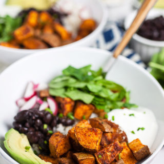 30-Minute Sweet Potato Taco Bowls