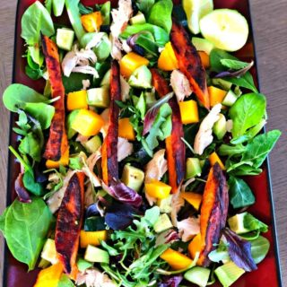 Mango Chicken Sweet Potato Salad