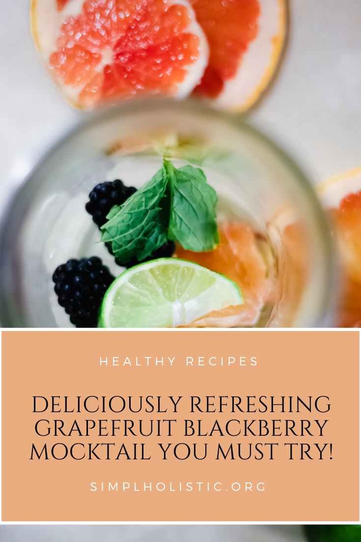 This Grapefruit Raspberry Mimosa Mocktail is perfect for summer entertaining since it contains no alcohol. Made with good-for-you ingredients, including a shot of hemp, this fruit-infused drink won't leave you feeling tired or bloated.