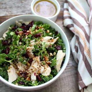 Winter Detox Kale Chicken Salad