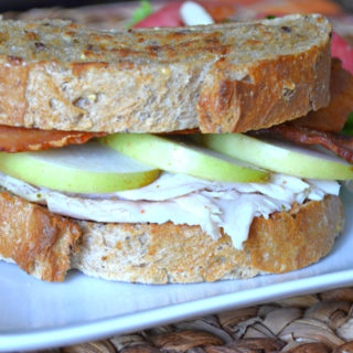 Create a simple deli-style meal at home with this amazing Turkey Bacon Apple Deli Sandwich. Just 5 ingredient, 572 calories, and only 20 minutes of your time deliver the best budget-friendly meal you'll ever enjoy!