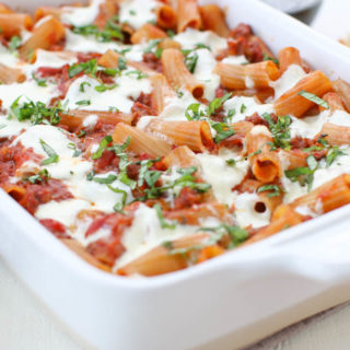 Need a quick casserole fit for a weeknight meal, friends gathering, or office potluck? This Italian Sausage Burrata Penne Bake is the perfect dish. Classic Italian flavors that deliver a delicious comfort food in just one pan.