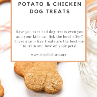 Made with 4 simple grain-free ingredients, this healthy homemade dog treat recipe is perfect for your furry friend. Packed with protein from chicken and eggs, these Grain-Free Sweet Potato Dog Treats are organic, raw, and epilepsy approved.