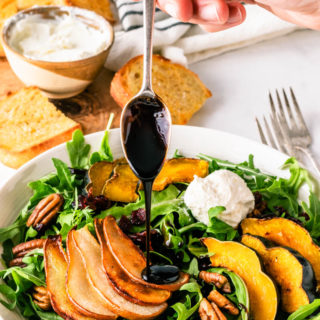 Roasted Pear Squash Winter Salad