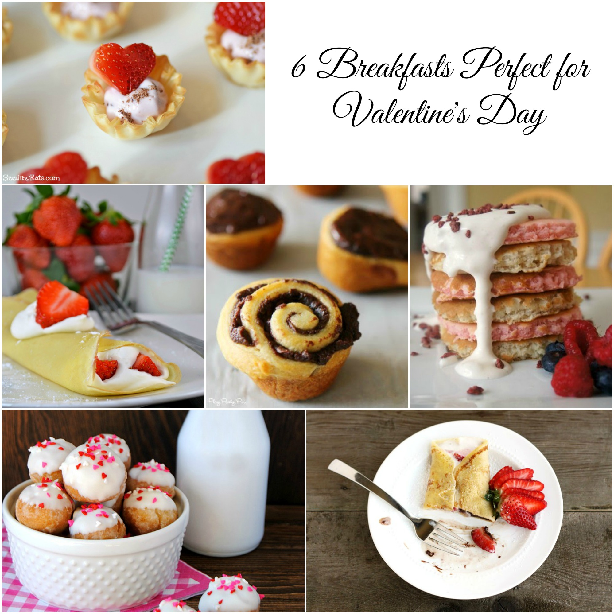 Valentine's breakfast ideas, Valentine's food