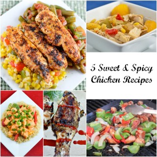 5 Sweet and Spicy Chicken Recipes