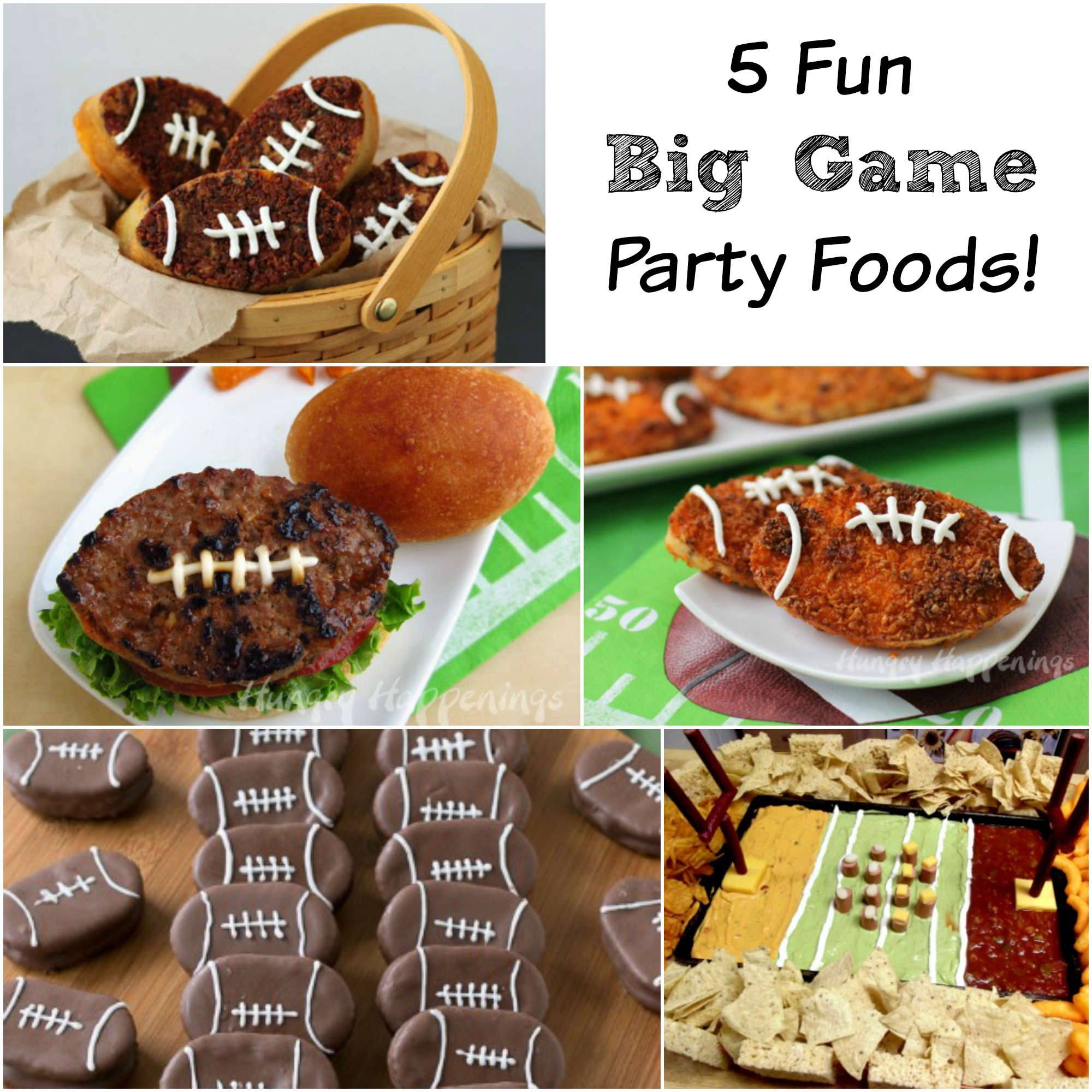 football party foods, football foods, appetizers, game day appetizers