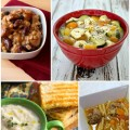 4 30-Minute Soups Recipes that are perfect for lunch! #SoFab