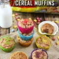 Berry Colossal Crunch Cereal Muffins