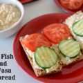 Tuna Fish Salad on Wasa Crispbread