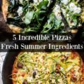 5 summer pizzas