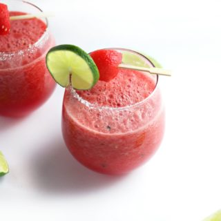Watermelon Slushie Margarita