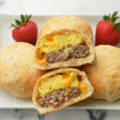 Sausage Egg and Cheese Breakfast Rolls Recipe