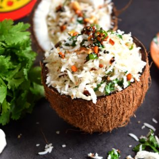 One-Pot Indian Coconut Rice Bowl