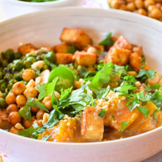Coconut Curry Tofu Bowl