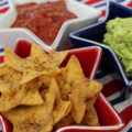 The 4th of July is right around the corner and whether you're heading to a backyard BBQ or lounging on the beach, these Star Shaped Tortilla Chips will be the perfect addition to your spread!