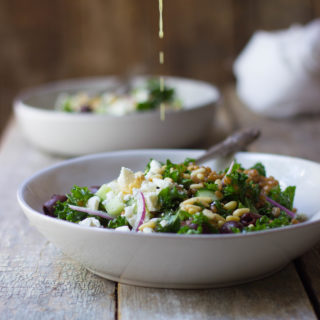 Mediterranean Wheat Berry Salad