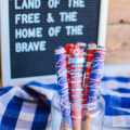 You need these Patriotic Candy Dipped Pretzels at your Fourth of July gathering this year! Simple to make, perfectly patriotic, and sure to be loved by kids and adults alike.