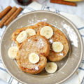 This almond milk Egg-Free Maple Vanilla French Toast recipe is so soft, pillowy, and full of flavor, it will make you want to host a brunch at home every weekend!