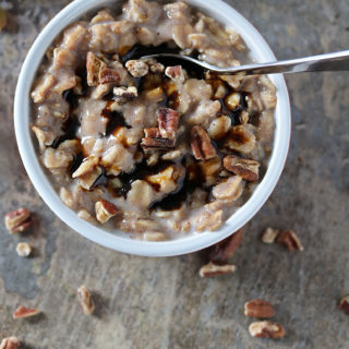 Comforting Gingerbread Oatmeal