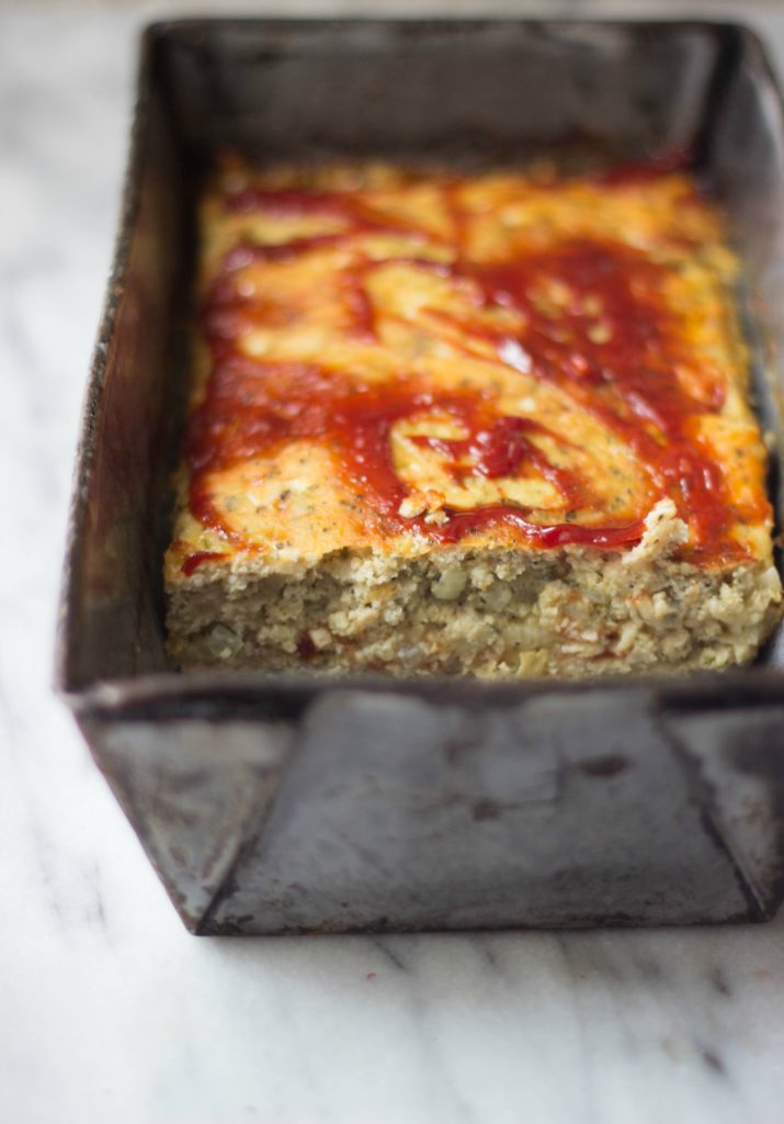 White Cheddar-Stuffed Turkey Meatloaf is a unique twist on a traditional family favorite. It's a simple recipe to put together for a weeknight meal using ground turkey, dijon mustard, Italian seasonings, and shredded cheese.