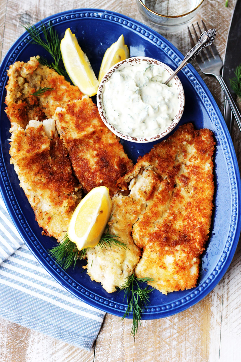 How To Cook Panko Flounder